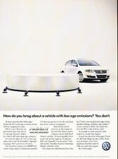 2007 VW Volkswagen Passat Original Advertisement Print Car Ad J531
