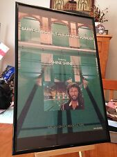 "BIG 11X17 FRAMED BARRY GIBB (BEE GEES) ""NOW VOYAGER"" SOLO LP ALBUM CD PROMO AD"