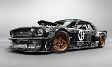 "Mustang-Hoonigan ""KEN BLOCK"" 4WD MUSCLE CAR Wall Art Immagine Tela 20x30 """