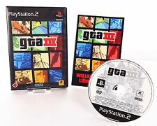 Ps2 * GTA 3/Grand Theft Auto IIII * PlayStation 2/instrucciones & OVP