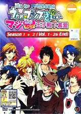 ANIME UK Based UTA NO PRINCE-SAMA - MAJI LOVE 1000% + 2000% Full TV Series DVD