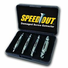Speedout Damaged Screw Extractor & Bolt Extractor Set Home Improvement Tools NEW