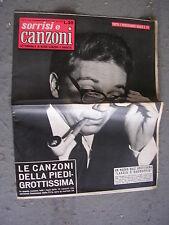 TV SORRISI e CANZONI # 38 - 22 SETTEMBRE 1957 - MIKE BONGIORNO