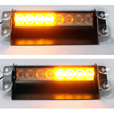 Amber Only LED Emergency Recovery Strobe Warning Flashing Car Truck Dash Light