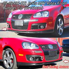 05-10 VW GTI Jetta MK5 Votex Front Bumper Lip (Urethane)
