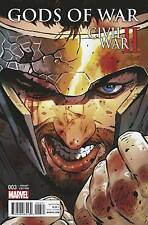 CIVIL WAR II GODS OF WAR #3 (OF 4) Variant Cover by ACO