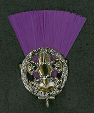 SCOUTS OF NIPPON (JAPAN) - SCOUT COMMISSIONER (PURPLE COLOUR) Metal Plume
