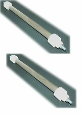 2 x QUARTZ HEATER REPLACEMENT TUBES ELEMENTS BULBS 400W SIZES 164mm