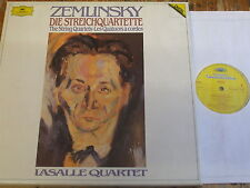 2741 016 Zemlinsky The String Quartets / LaSalle Quartet 3 LP box