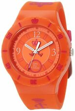 Juicy Couture Women's Taylor Orange Jelly Strap Watch 1900852