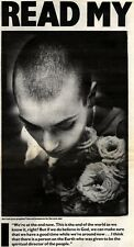 31/10/92PGN12 ARTICLE & PICTURES : SINEAD O'CONNOR