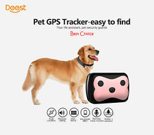 Waterproof IP65 Pet Dog Cat Collar Safe Locator GPS Tracker GSM Anti-lost Finder