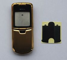 New Full Housing Battery Back Case Cover For Nokia 8800 Gold Generic