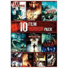 10-Film Horror Pack (DVD 2-Disc) Halloween Venom Dracula New (No Shrinkwrap)