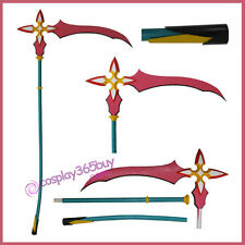 Kingdom Hearts Marluxia Scythe Keyblade Cosplay Prop PVC made