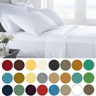 1500-1800 EGYPTIAN COMFORT BED SHEET SET DEEP POCKET COUNT 4 PIECE NEW BLOWOUT