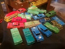 Vintage  lot Tootsie Tootsie toy and other brand metal car lot