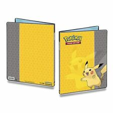 ULTRA PRO POKEMON PIKACHU 9-POCKET PORTFOLIO FOR CARDS INCLUDES PAGES