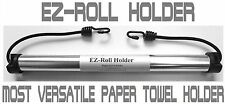 EZ-Roll Paper Towel Holder for Picnics, RV's, Camping, Cars, Boats, Grills ...