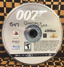 James Bond 007: Quantum of Solace (PlayStation 3) USED (NO CASE) #10451