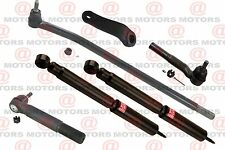 Front Shock Absorber Inner Outer Tie Rod Pitman Arm For Dodge Ram 2500 4X4 03-08