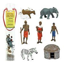 Afrikanisches Dorf  (7 Minifiguren) Serie Themengebiet Safari Ltd 682004