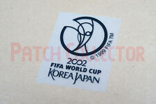FIFA World Cup 2002 Korea Japan Black Sleeve Soccer Patch / Badge