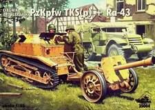 PZ.KPFW TKS (p) +RAKETENWERFER Ra 43 +XT-7 ROTKAPPCHEN +VG 15 LUFTFAUST 1/35 RPM
