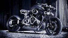 "24"" x 16"" Poster Confederate X132 Hellcat Custom Motorcycle"