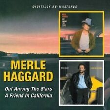 "MERLE HAGGARD ""OUT AMONG THE STARS/A FRIEND..."" CD NEU"