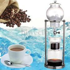 Dutch Coffee Cold Drip Water Drip Coffee Maker Serve For 10 Cups 1000ml New