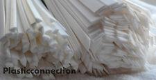 PP Plastique baguettes de soudage mélange 4mm triangulaire+8mm plat blanc,