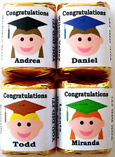 30 GRADUATION PARTY FAVORS CANDY WRAPPERS CUSTOMIZED