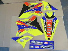 FLU DESIGNS  PTS2 TEAM  GRAPHICS  SUZUKI DRZ400 DRZ400S DRZ400E DRZ400SM DRZ