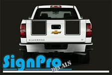 New Z71 2010-2012 Chevy Silverado Hood Tail Stripe Decals Graphic Rally 2 Styles