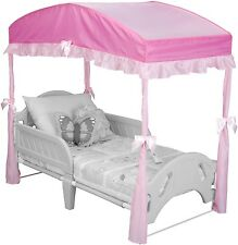 Delta Children Girls Canopy for Toddler Bed, Pink  from Delta Children OOO