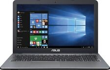 NEW Asus VivoBook 15.6 Laptop Intel Pentium Quad Core 2.4Ghz 4GB 500GB HDD DVDRW