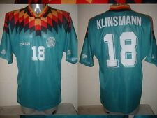 Germany Klinsmann Shirt Jersey Soccer Trikot Adidas Adult Small Deutscher 94 Top