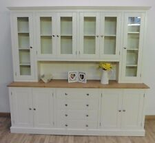 New Solid Pine 7ft Painted Welsh Dresser, Dining/Kitchen Unit.