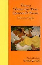 Treasury of Mexican Love Poems, Quotations & Proverbs: In Spanish and English (