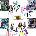 Monster High Exclusive I Heart Fashion Set of 4 - Scarah Abbey Frankie Clawdeen