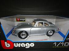 Bburago Porsche 356B 1961 Silver 1/18
