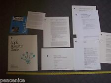 Vintage Apple Macintosh - DOCUMENTS
