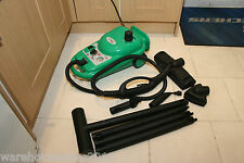 Steam Cleaner & Attachments Ideal For Allergy Sufferers, Clean Without Chemicals