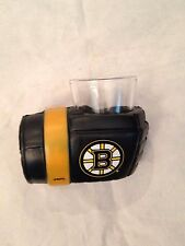 Boston Bruins Game on Glove Shot Glass with Holder . NHL Hockey NEW 2 oz. drink