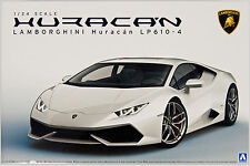 Aoshima 13762 Lamborghini Huracan LP610-4 1/24 scale kit
