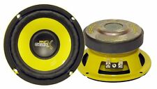 PYLE 6.5 Inch 300 Watt Car Audio Pro Bass Mid Range Woofer Stereo Speaker NeW