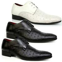 MENS SMART WEDDING SHOES ITALIAN FORMAL OFFICE PARTY DRESS BOYS GATSBY SHOE SIZE