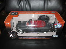 HIGHWAY 61 1952 HUDSON HORNET CONVERTIBLE DARK GREY WITH RED INTERIOR