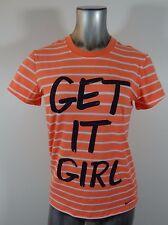 NIKE Get It Girl women's athletic t-shirt orange M